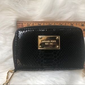 Michael Kors authentic Snakeskin Wallet